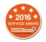 word of mouth 2106 service award